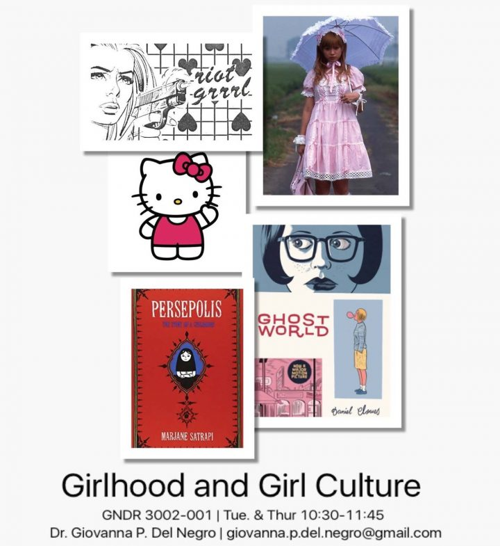 Girlhood and Girl Culture is a new course exploring the significance of girlhood in modern society.